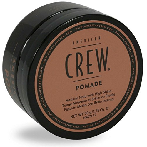 American Crew Pomade for Medium Hold with High Shine, 1.75 oz