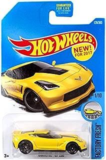 Hot Wheels 2017 Factory Fresh Corvette C7 Z06 128/365, Yellow