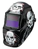 Lincoln Electric Variable-Shade Auto-Darkening Welding Helmet - Skull Design, Model# K3087-1