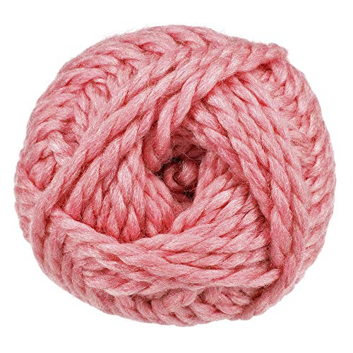 90 Yard Knäuel Super Bulky (Größe 6) Dual Blend Garn - 50% Wolle und 50% Acryl -...