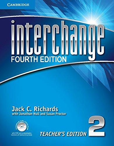 Interchange Level 2 Teacher's Edition with Assessment Audio CD/CD-ROM