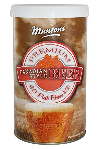 Bierkit MUNTONS Canadian Style beer/Kanadisch hell