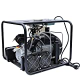 HPDMC Electric Air Compressor with Auto Stop Fuction,110v 60Hz,Up to 4500 psi High Pressure,Digital Display,Built-In Cooler Sytem for Paintball PCP Airgun Rifle Tanks Filling,LM60S