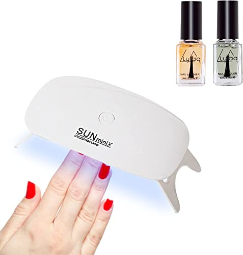 discount Mini UV LED Nail Lamp Clear Nail Gel Set,Portable Nail Polish Gel Light Mouse Shape Pocket Size new arrival Nail Dryer with USB Cable 45s/60s Timer Setting, Nail Gel 2021 Dryer and Nail Lacquer Set,SegkopuoL outlet online sale