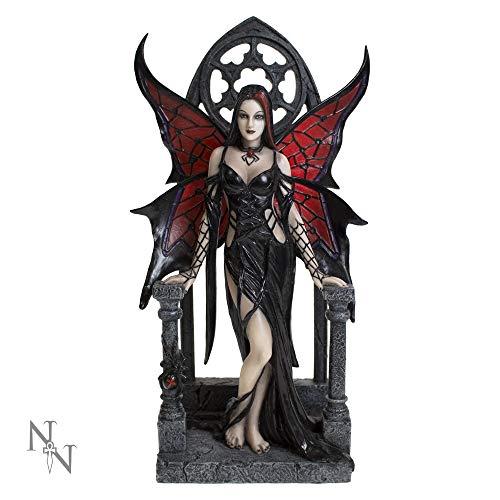 Nemesis Now Figur Aracnafaria, 28 cm, Schwarz