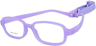 Children Optical Glasses Frame tr90 Flexible Bendable One-piece Safe Eyeglasses Girls Boy