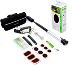 Bicycle Bike Cycling Repair Tools Cycle Maintenance Kit Set with Pouch Pump