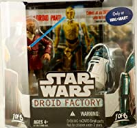 Star Wars Saga 2008 Build-A-Droid Factory Action Figure 2-Pack Plo Kloon and R4-F5