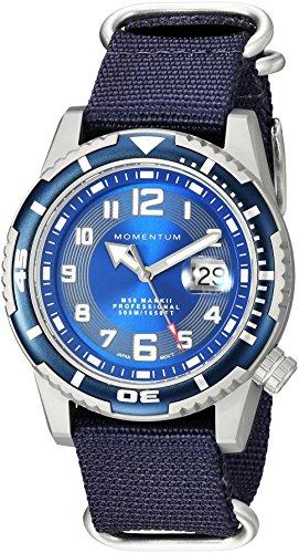 Men's Sports Watch   M50 Nylon Dive Watch by...