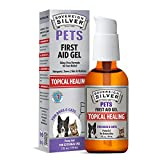 Sovereign Silver First Aid Gel for Pets - Topical Healing for Dogs and Cats, 2oz Pump Gel
