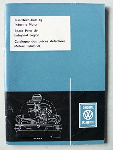 VW Industrie-Motor – Ersatzteile-Katalog