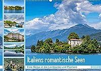 Italiens romantische Seen (Wandkalender 2022 DIN A2 quer): Traumhafte Eindruecke vom Lago Maggiore und Lago di Garda (Monatskalender, 14 Seiten )