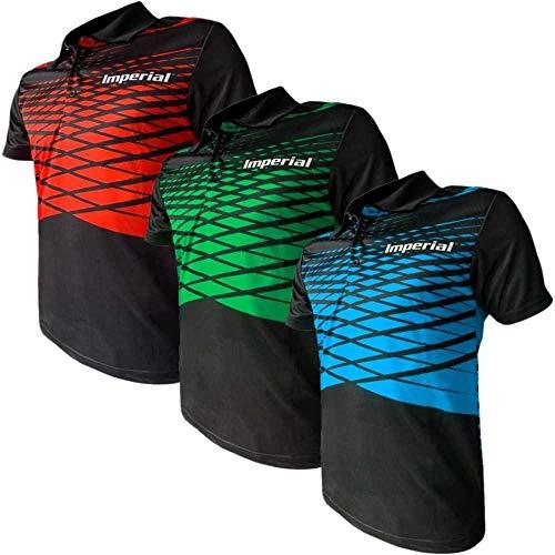Imperial Shirt F-9 (rot - XXL) | - Funktionsfaser Tischtennis Shirt | Tischtennis Trikot | Tischtennis Hemd | TT-Spezial - Schütt Tischtennis