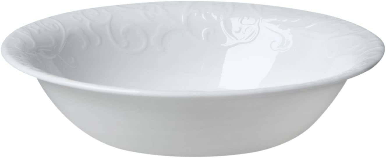 Corelle Embossed Bella Faenza 18 Ounce Set of Soup Bowl Cereal 送料無料限定セール中 お洒落
