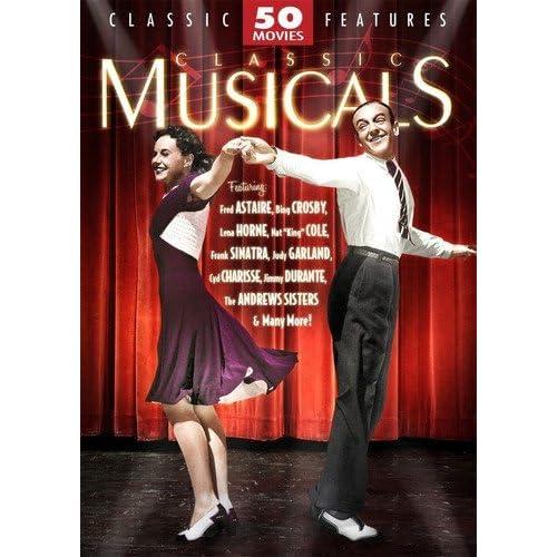 Classic Musicals: 50 Movie Pack (12DVD)