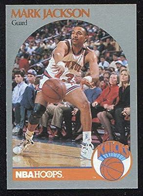 1990 Hoops Basketball Card (1990-91) #205 Mark Jackson Near Mint/Mint