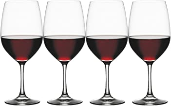 Spiegelau 4510277 Vino Grande Bordeaux Wine Glasses (Set of 4), Clear