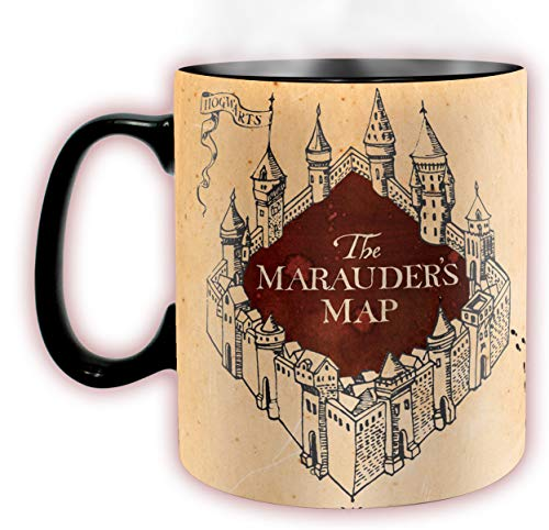ABYstyle -HARRY POTTER - Taza cambia color con calor - 460 ml - Merodeadores