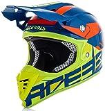Acerbis casco profile 3.0 s blu/giallo xxl