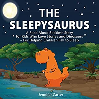 The Sleepysaurus audiobook cover art