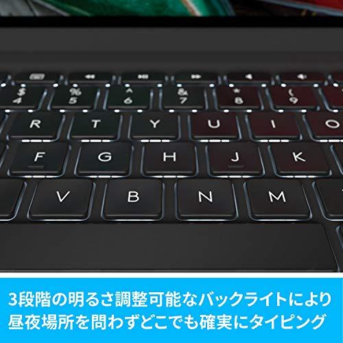 ロジクールiPadPro11インチ第1世代第2世代対応Bluetoothキーボード英語配列薄型ケース一体型iK1174Aバックライト付国内正規品2年間メーカー保証