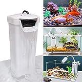 K1-Store Filtro interno para acuario, filtro de tortuga, bajo nivel de agua, bomba de limpieza para reptiles, tanque de tortuga, tanque de peces, tanque de anfibios