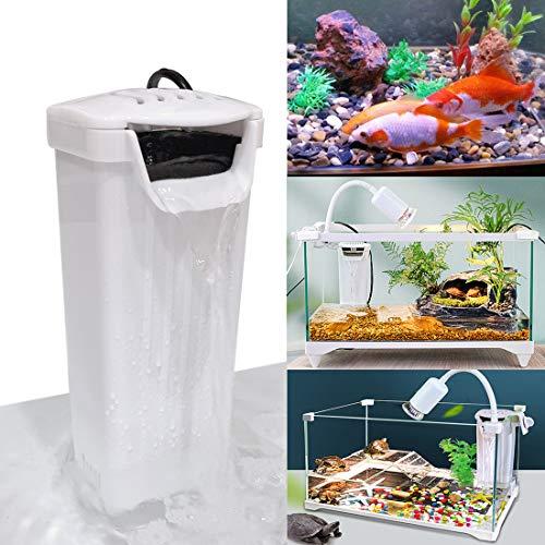 K1-Store Internal Filter Aquarium Turtle Filter Low Water Level Clean Pump for Reptiles Turtle Tank Fish Tank Amphibian Tank