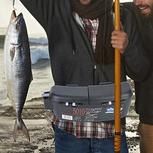 Ongoion Riñonera portátil, Caja de Aparejos de Pesca, contenedor de Aparejos de Pesca, para señuelos, cebos, Bolsa de Herramientas para Peces, Bolsa de Pesca