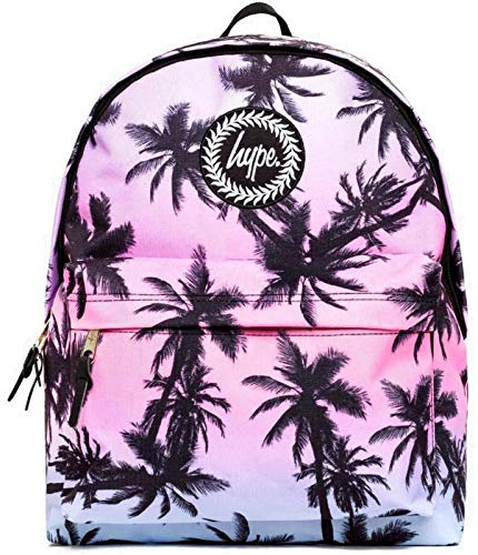 Hype Palm Fade Rucksack, Pink / Blau / Schwarz