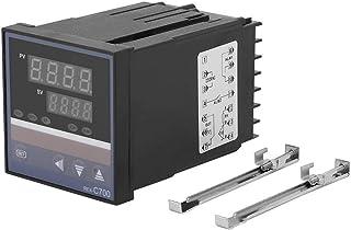 REX-C700 0-400 ℃ cyfrowy regulator temperatury PID przekaźnik wejściowy termoelementowy wejście 220 V wyjście