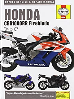 Honda CBR1000RR Service and Repair Manual: 2004 to 2006 by Matthew Coombs (May 24,2007)