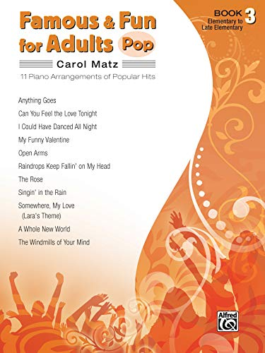 Famous & Fun for Adults: Pop - Book 3