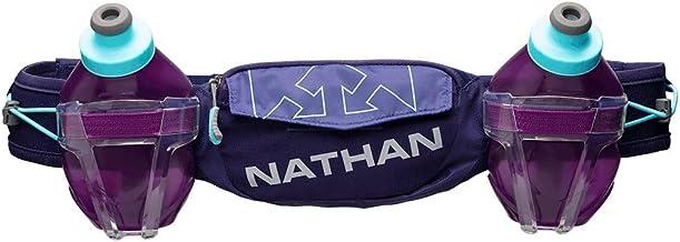 Nathan Hydration Running Belt Trail Mix Plus - Verstelbare Running Belt - TrailMix Inclusief 2 Flessen/Flask - Met Opbergz...