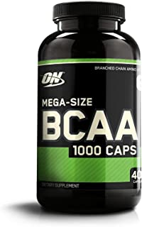 OPTIMUM NUTRITION Instantized BCAA Capsules, Keto Friendly Branched Chain Essential Amino Acids, 1000mg, 400 Count