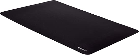 AmazonBasics Large Extended Gaming Computer Mouse Pad - Black