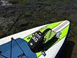 Paddle Board Accessories - SUP Cooler Bag and Mesh Top in One! (Green, 1 Bag)