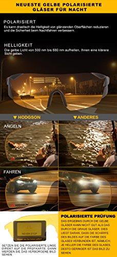 HODGSON Occhiali da Sole Sportivi Polarizzati