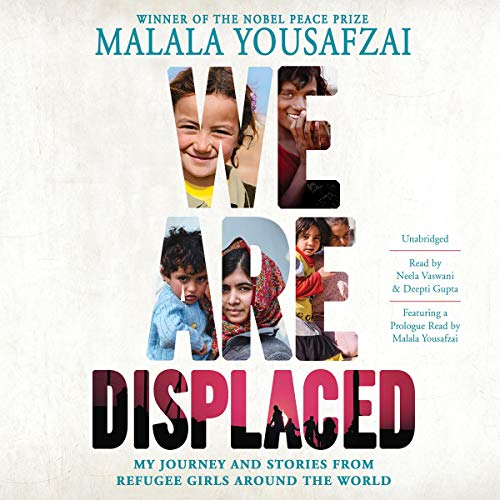 Page de couverture de We Are Displaced