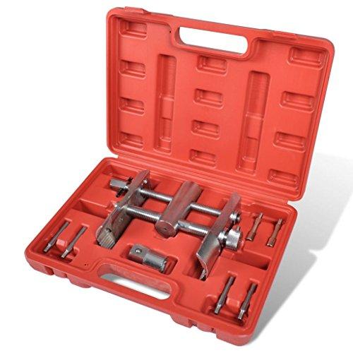 vidaXL Mutternschlüssel Kappenschlüssel Nutmutter Rundmutter Werkzeug Satz