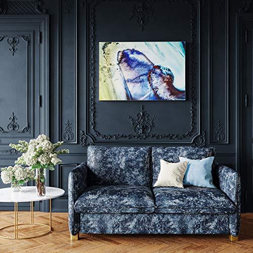 place to be Akustikbild als Schallabsorber Bild quadratisch Schallschutzbild 100 x 100 cm mit eigenem Motiv zum selbst gestalten