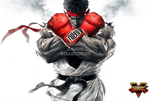 PrimePoster - Street Fighter V Ryu Promo Art Poster Glossy Finish Made in USA - OTH247 (24' x 36' (61cm x 91.5cm))