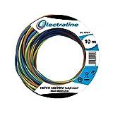 Electraline 25149, H07V-K Cable, Sección 1x2.5 mm, 10m, Multicolor...