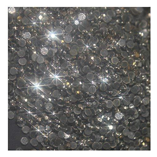 1000 Petits Strass Hotfix [Ø2,1 mm s06] N° 110 Couleur Noir Hematite Argent
