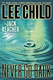 Never Go Back (Jack Reacher #18) 表紙画像