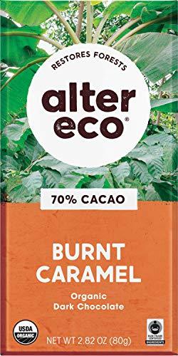 image of Alter Eco Organic 70% Cacao Burnt Caramel Dark Chocolate