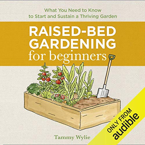 Raised-Bed Gardening for Beginners audiobook cover art