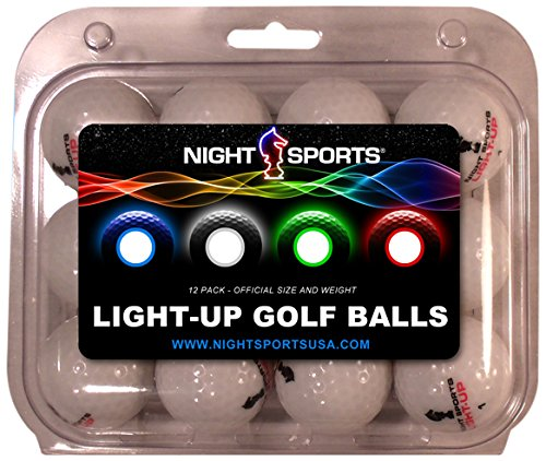 Buy Discount Night Sports USA Light-Up Golf Ball (Pack of 12), Blue