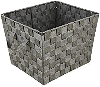 Simplify Storage Basket, Grey