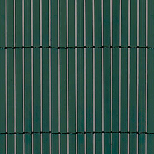 tenax Canniccio Sintetico a Canne Intere da 7 mm, Schermante Frangivista, 1,00 x 5 m, Colorado Verde, 00x5m