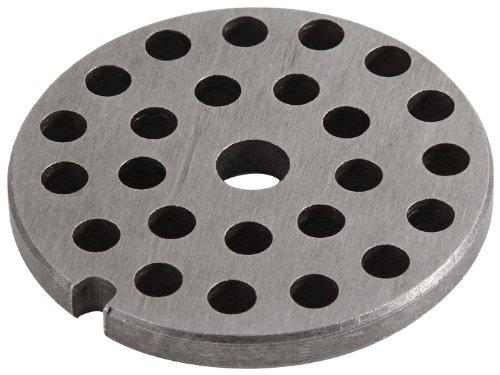 Westmark Ersatz-Lochscheibe für Westmark Fleischwolf 97522260/Gr. 8, Stahl, Lochungsdurchmesser: 6 mm, 14802250